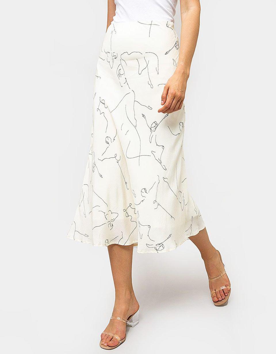 Ballet Sketch Slip Skirt