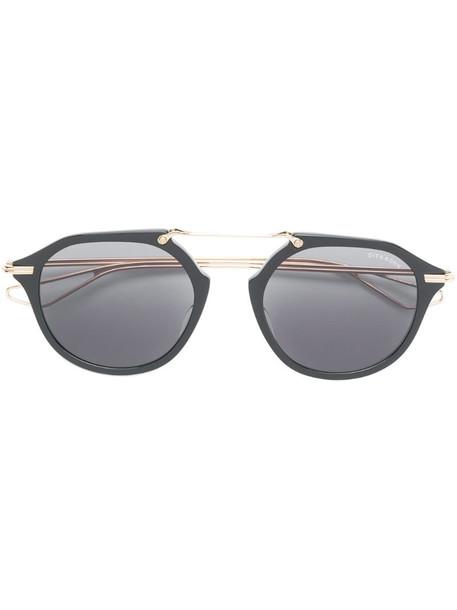 Dita Eyewear round tinted sunglasses in black