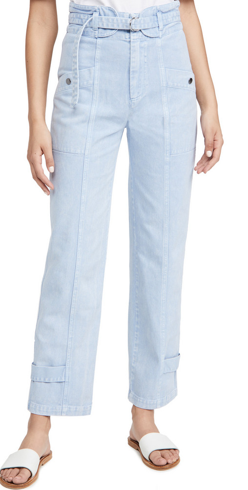 Sea Maura Acid Wash Jeans in blue