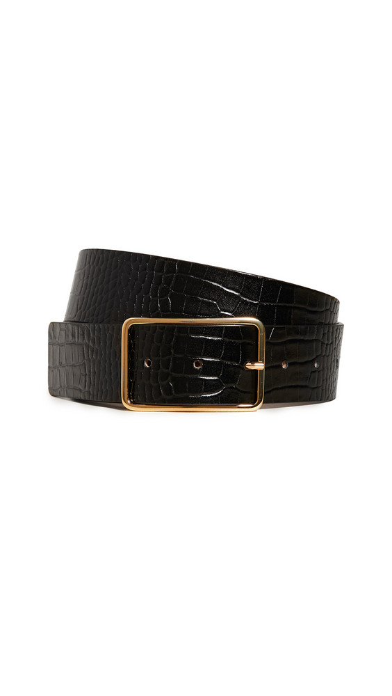 B-Low The Belt Milla Croc Belt in black