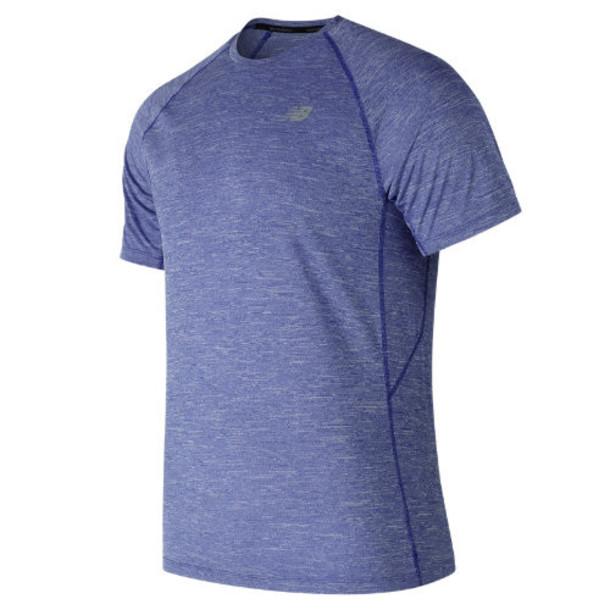 New Balance 81095 Men's Tenacity Short Sleeve - Blue (MT81095TRY)