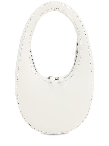COPERNI Mini Swipe Smooth Leather Bag in white