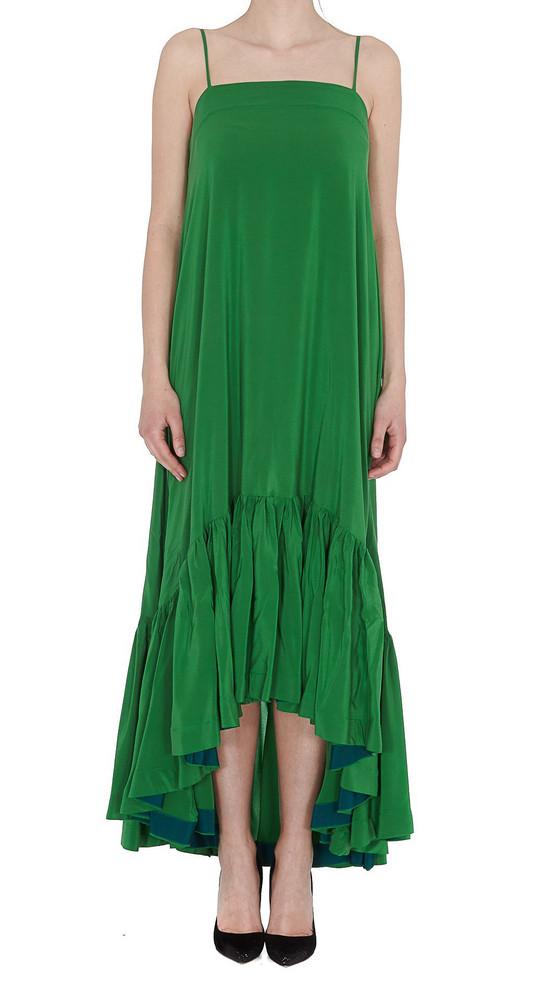 Gianluca Capannolo Elsa Dress in green