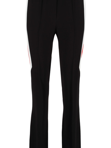 Givenchy High-waist Crêpe Trousers in black
