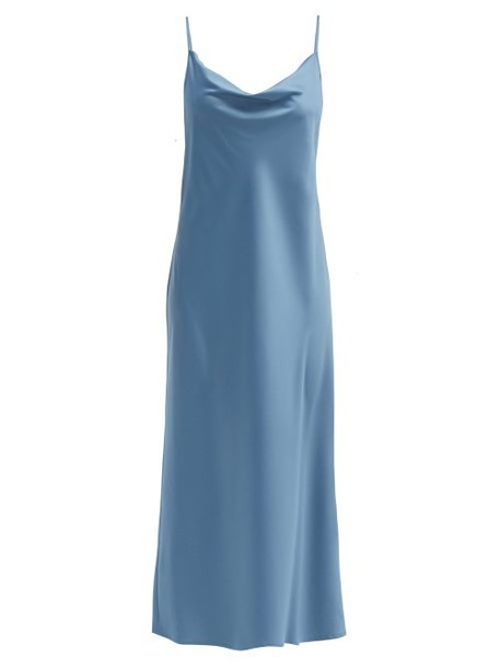 Max Mara Leisure - Teoria Dress - Womens - Blue