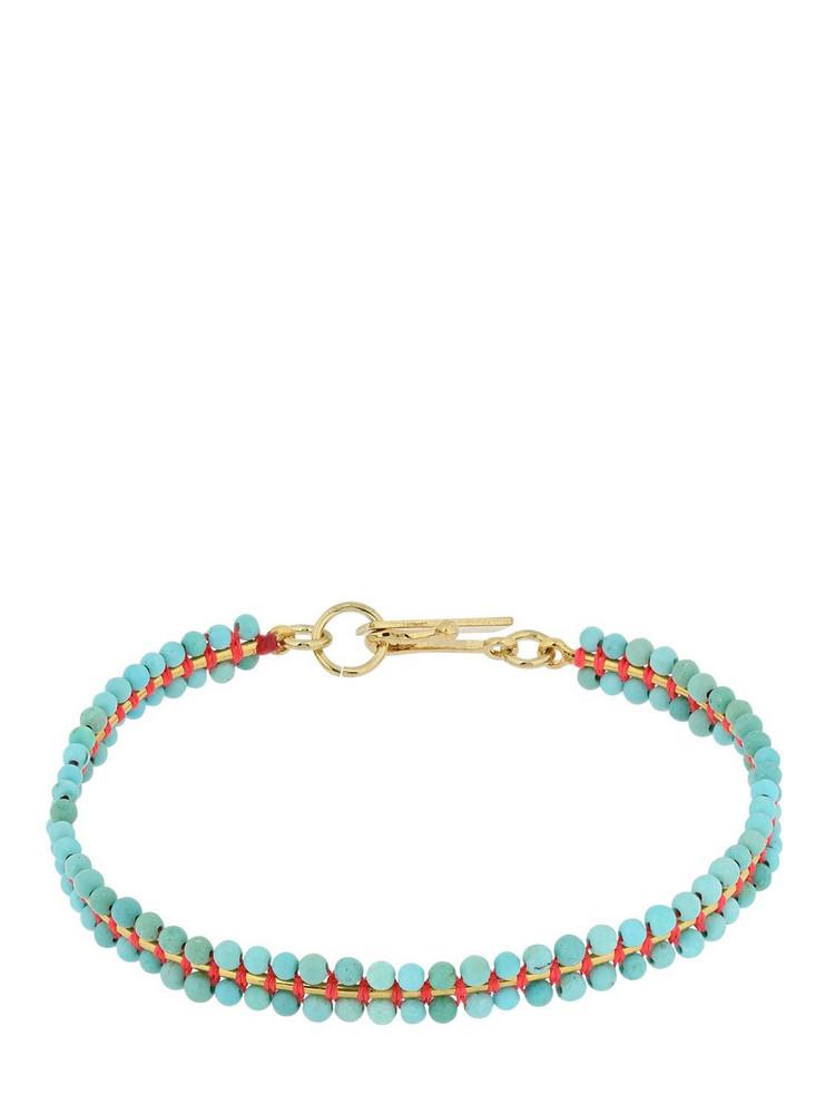 ISABEL MARANT Cesaria Bracelet W/ Beads in gold