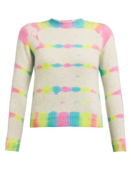 The Elder Statesman - Prism Dyed Cashmere Sweater - Womens - Multi