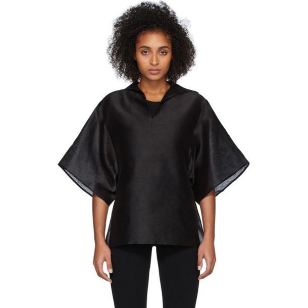 Toteme Black Liry Shirt