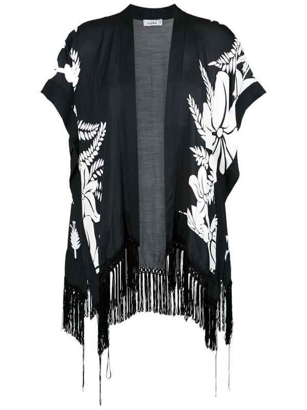 Amir Slama floral print kimono