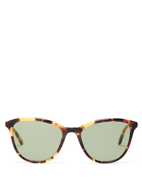 Garrett Leight - Magician Cat-eye Acetate Sunglasses - Womens - Tortoiseshell