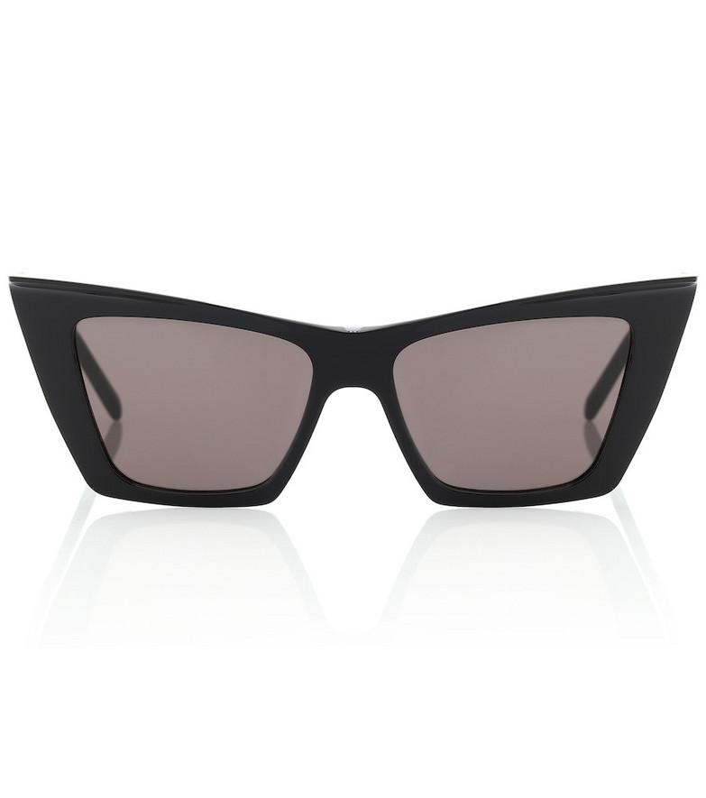 Saint Laurent Cat-eye acetate sunglasses in black