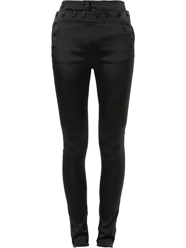 Ann Demeulemeester high-waisted skinny trousers in black