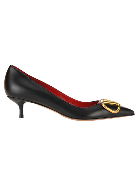 Valentino V Logo Pumps in black
