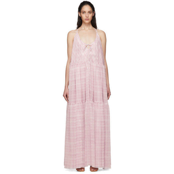 Jacquemus Pink La Robe Mistral Dress