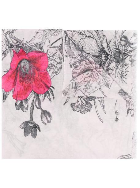 Faliero Sarti Ginevra floral-print scarf in pink