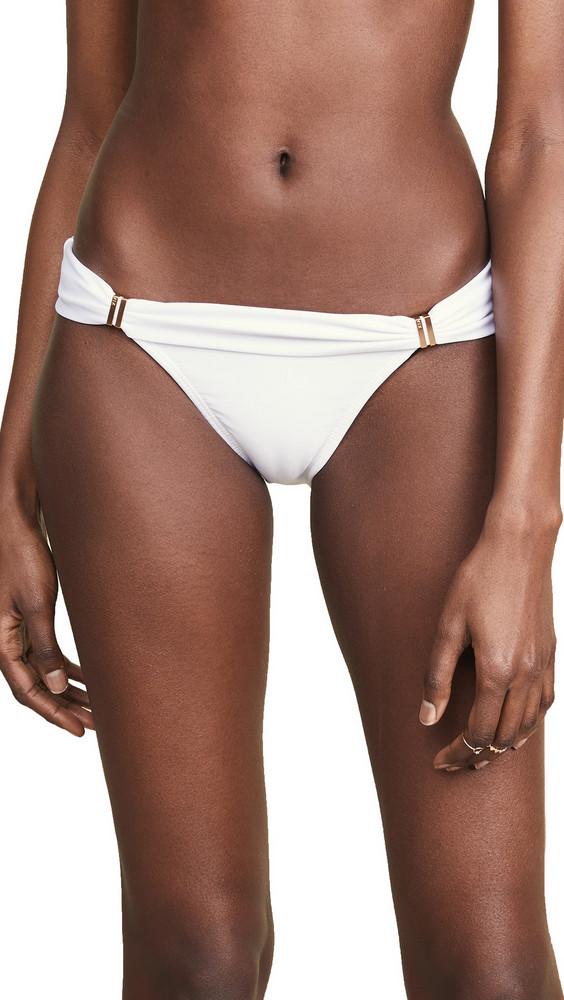 ViX Swimwear Bia Tube Full Bikini Bottoms in white