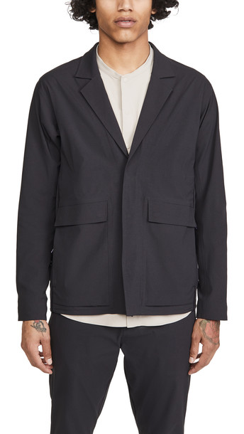 Robert Geller x lululemon Take The Moment Travel Jacket in black