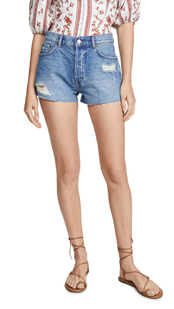 Reformation Dixie High Rise Jean Shorts