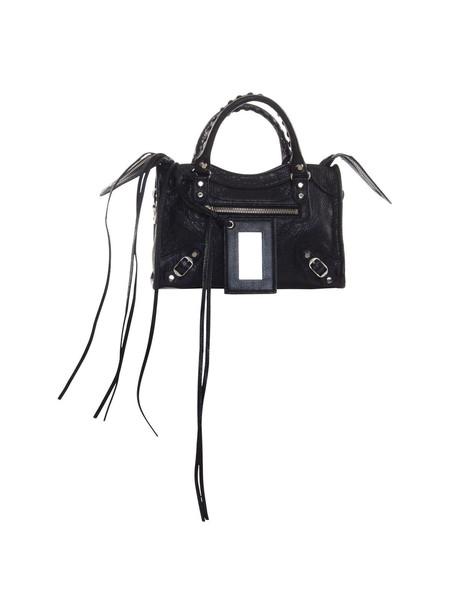 Balenciaga Classic Mini City Bag In Black