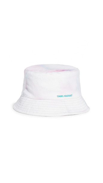 Isabel Marant Haley Bucket Hat in green