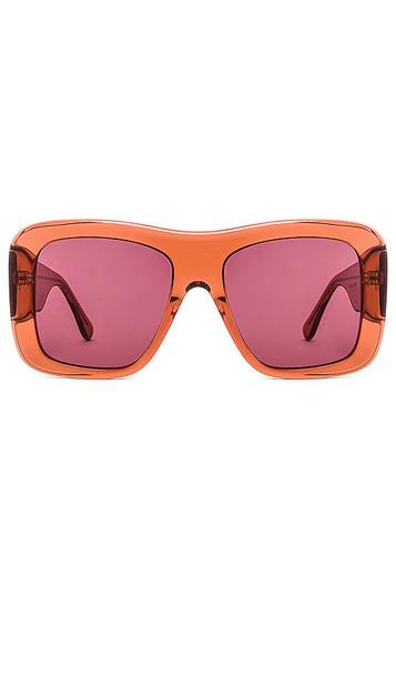 my my my Freddy Sunglasses in Peach