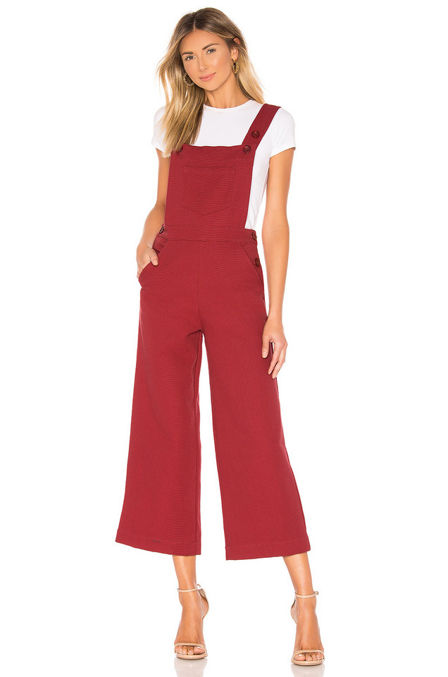 Rachel Pally Odessa Overall in red