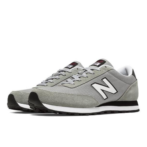 New Balance 501 Ballistic Men's Running Classics Shoes - Grey, Black, White (ML501MOZ)