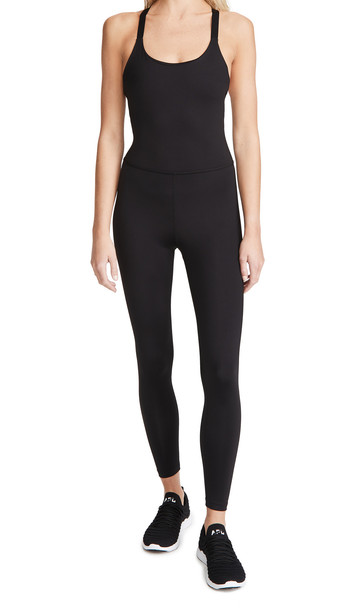 Beyond Yoga Play The Angles Bodysuit in black