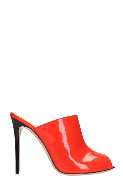 Dei Mille Ref Fluo Sabot Mule in red