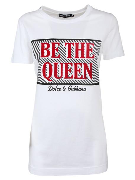 Dolce & Gabbana T Shirt in bianco