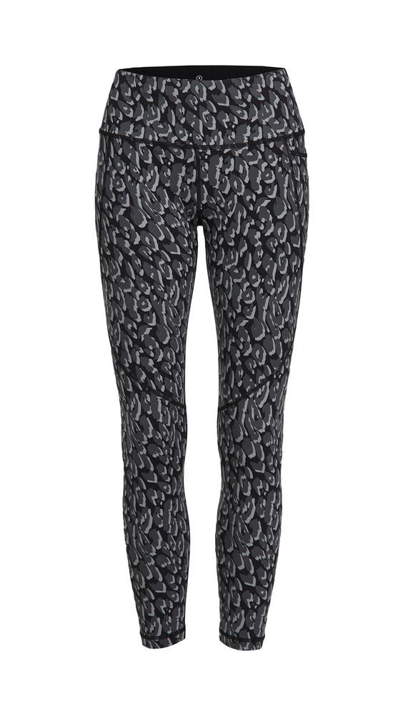 Sweaty Betty Power Workout Leggings in black / leopard