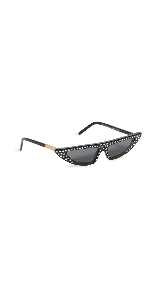 Poppy Lissiman Huntsman Luxe Sunglasses in black