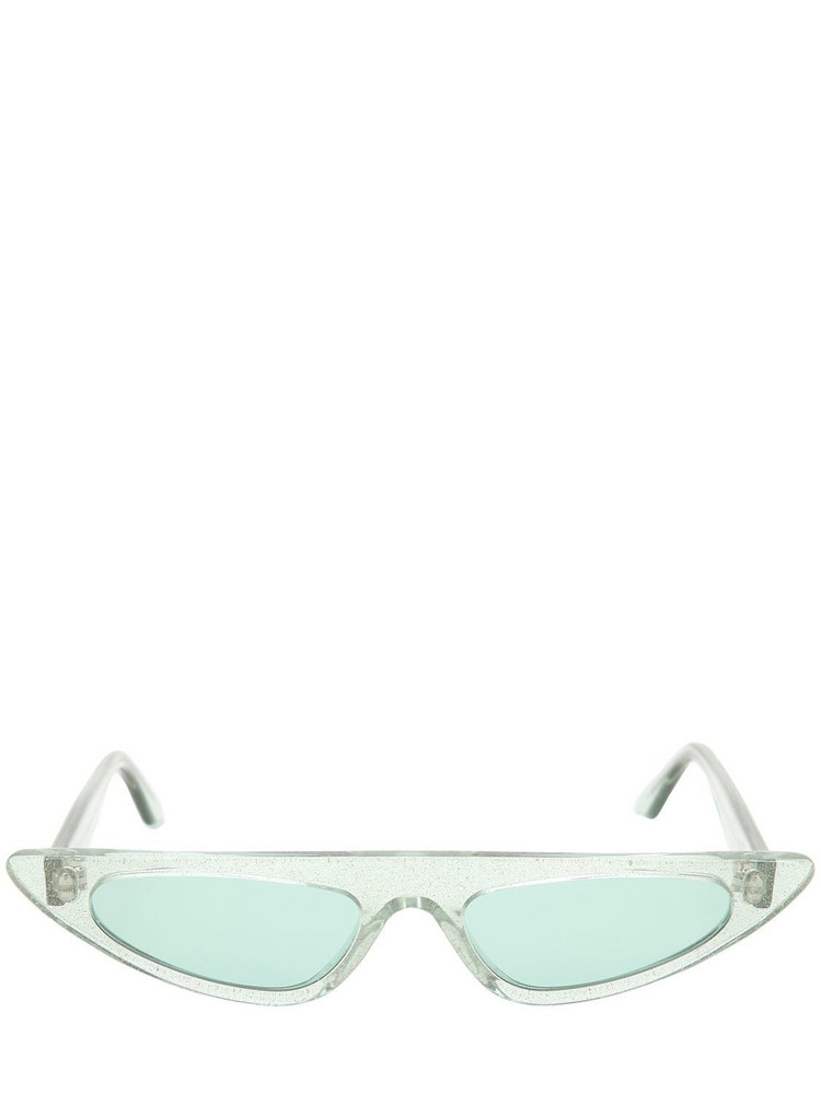 ANDY WOLF Florence Cat-eye Sunglasses in green