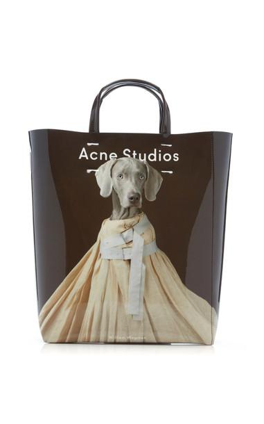 Acne Studios Baker Printed Vinyl Tote Bag in multi