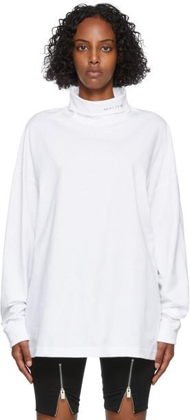 1017 ALYX 9SM White Visual Turtleneck