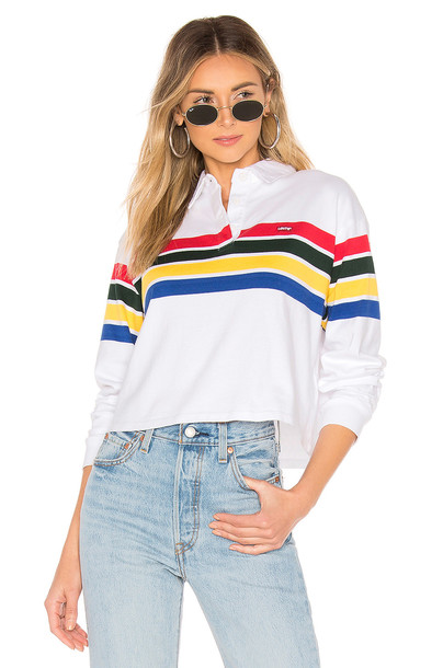 LEVI'S Rugby Tee in white