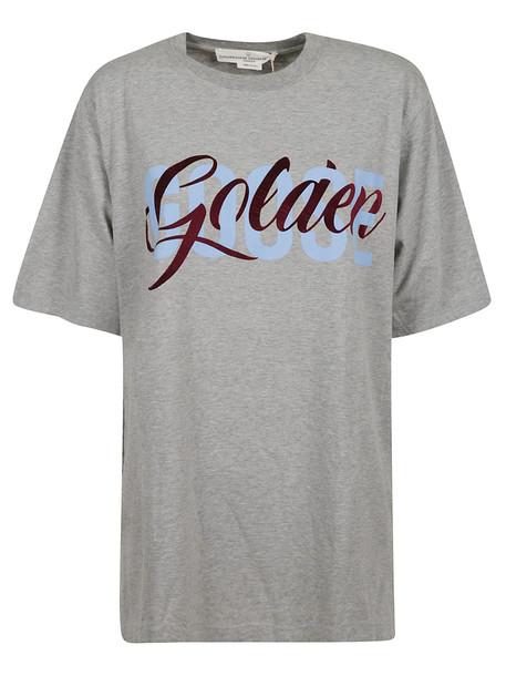 Golden Goose Logo T-shirt in gray