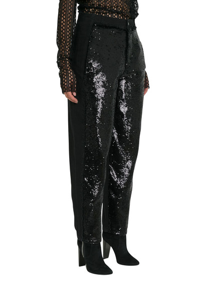 Philosophy di Lorenzo Serafini Black Jeans With Frontal Sequins Application