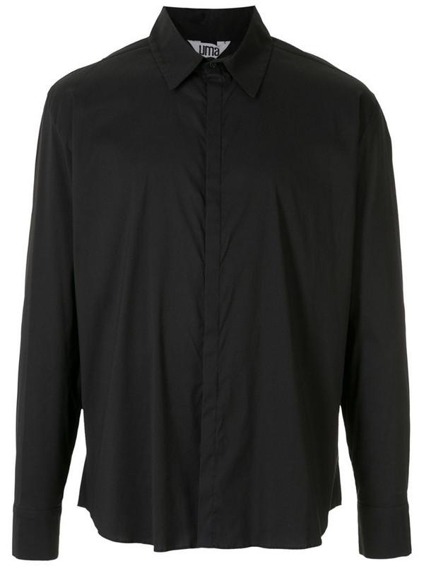 Uma - Raquel Davidowicz Luneta long sleeves T-shirt in black
