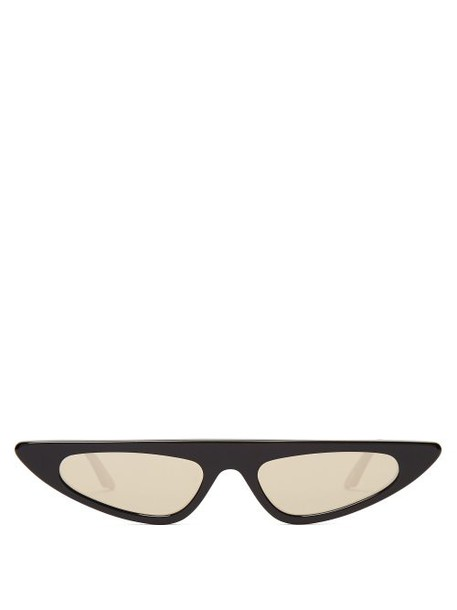 Andy Wolf - Florence Cat Eye Sunglasses - Womens - Black