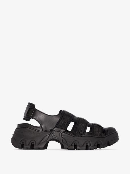 Rombaut black bocaccio II sandals