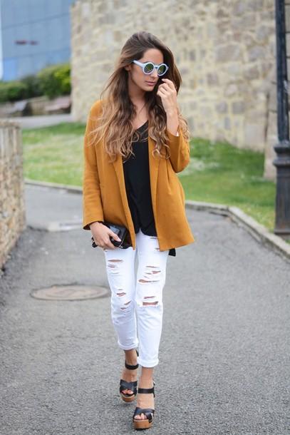 stella wants to die jeans jacket t-shirt bag sunglasses jewels