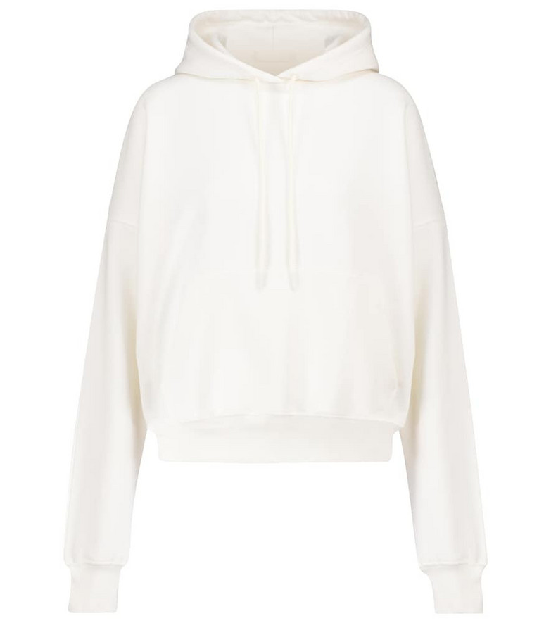 WARDROBE.NYC Release 03 cotton hoodie in white
