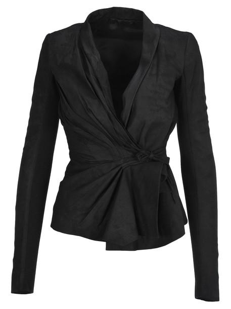 Rick Owens Tungsten Jacket in black