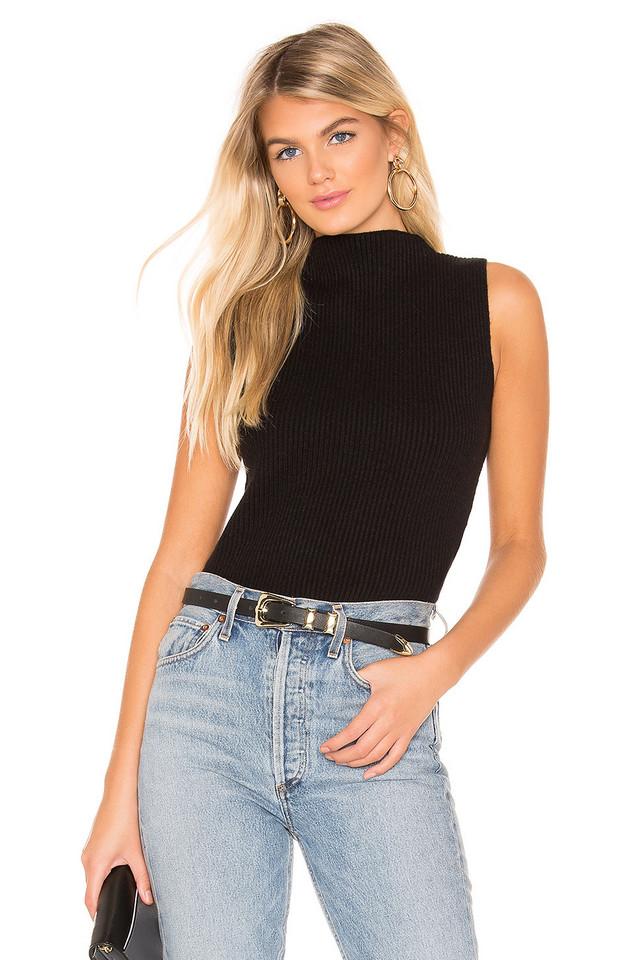 Line & Dot Starlet Sweater in black