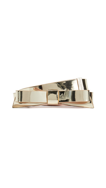 Kate Spade New York Classic Bow Belt in gold