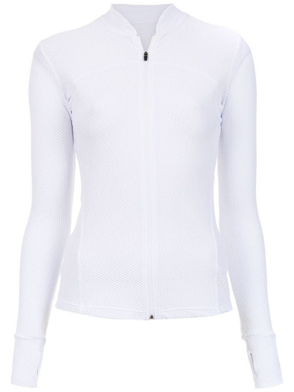 Track & Field Power Cool jacket in white