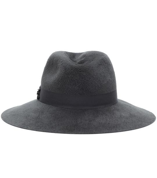 Loro Piana Felt hat in grey