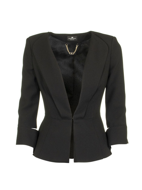 Elisabetta Franchi Celyn B. Elisabetta Franchi Celyn B. Jacket With Slits On The Sleeves in black