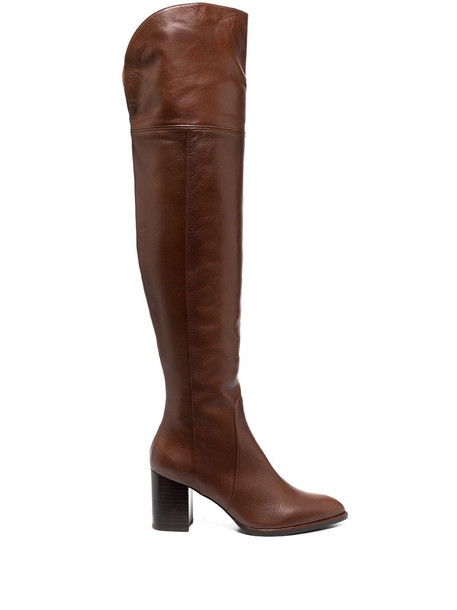 Stuart Weitzman Raylene knee-length boots in brown